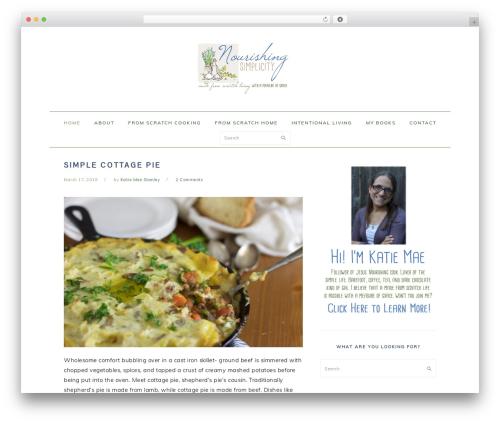 Best WordPress theme Foodie Pro Theme - tireswingroots.com