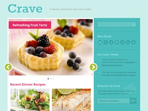 Crave Theme WordPress template
