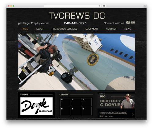Doyle WordPress theme - tvcrewsdc.com
