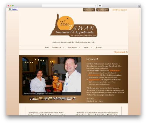 Free WordPress Contact Form Manager plugin - thai-tawan.de