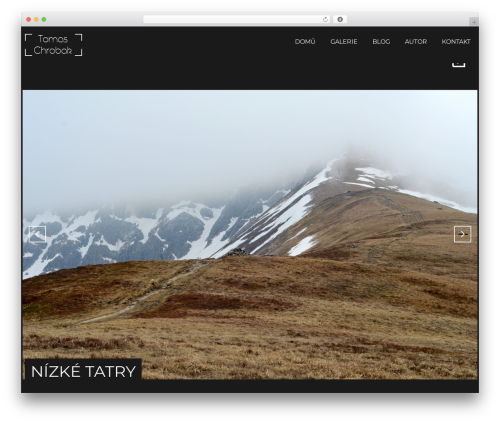 Focal wallpapers WordPress theme - tomphoto.cz
