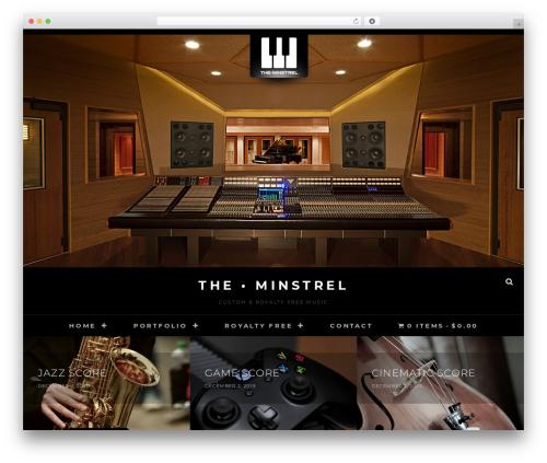 Free WordPress WP Menu Cart plugin - theminstrel.net