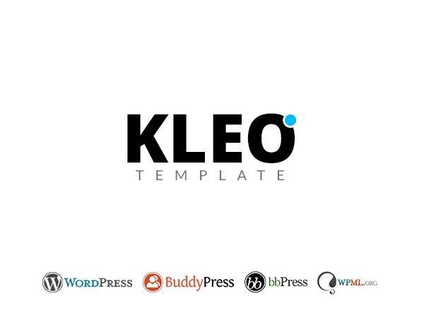 Kleo (Share On Theme123.Net) WordPress theme design