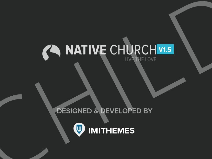 Native Church Child WordPress theme
