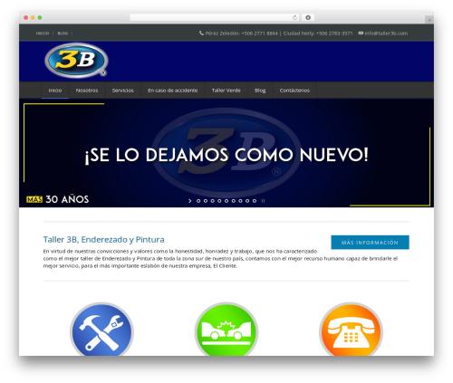NetStudio top WordPress theme - taller3b.com