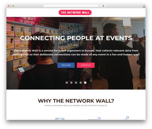 OnePirate WordPress theme design - thenetworkwall.com