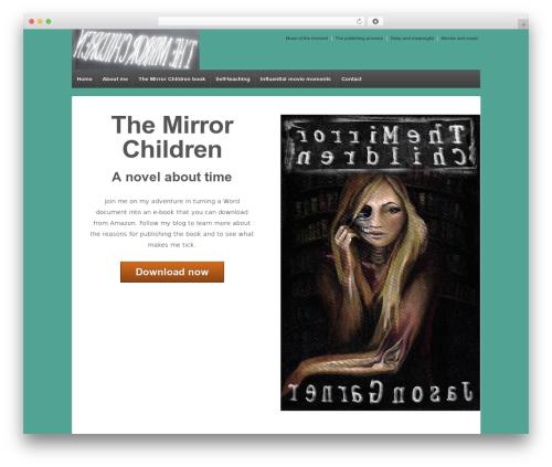 Responsive free WordPress theme - themirrorchildren.com