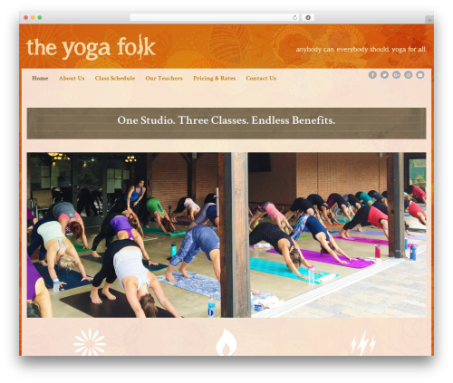 Free WordPress Galleries by Angie Makes plugin - theyogafolk.com
