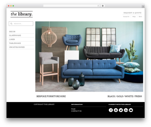 The Retailer WP template - thelibraryonline.co.za