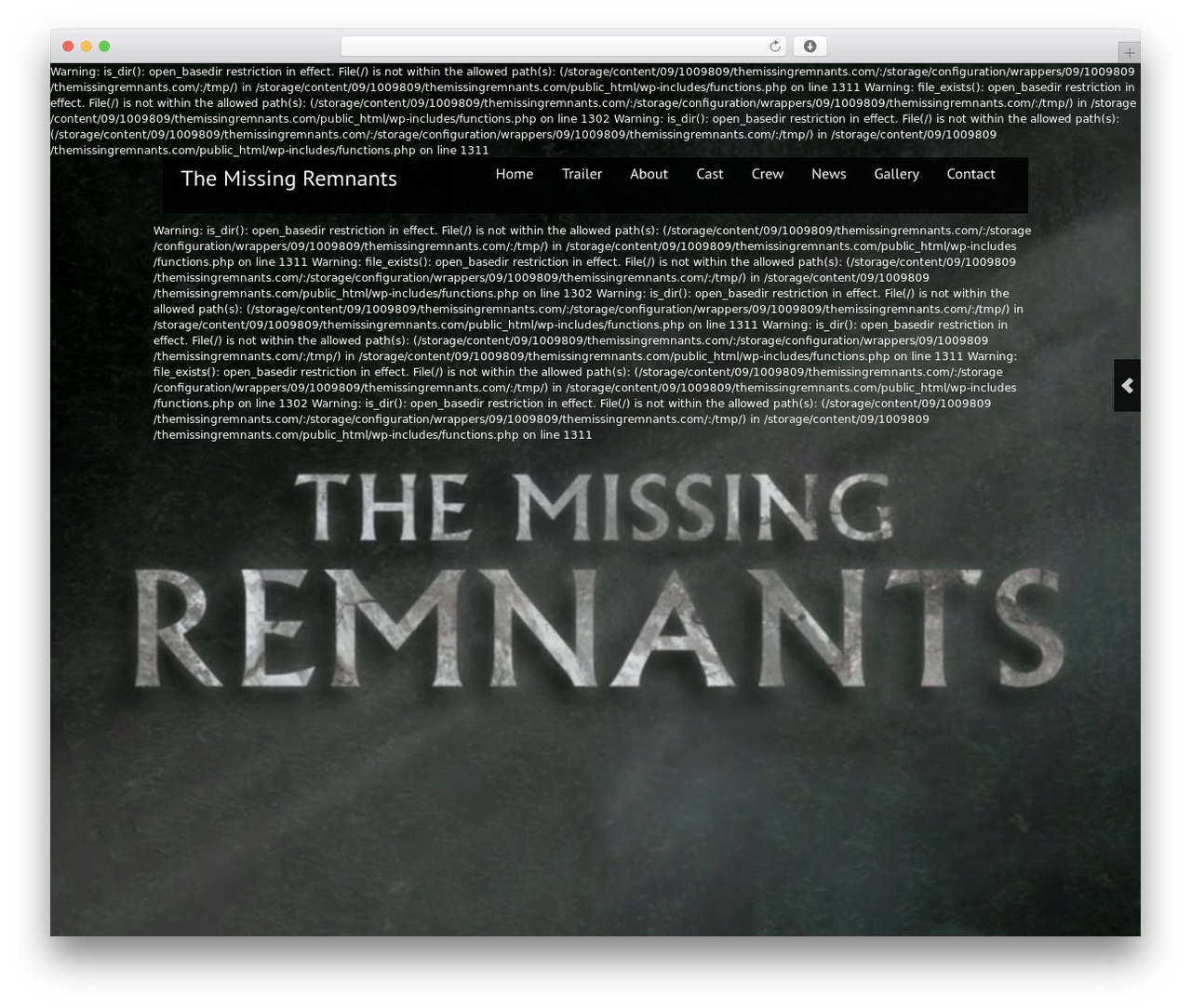 Theme WordPress Black Label - themissingremnants.com