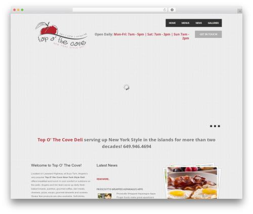 Theme WordPress Feast - topothecove.com