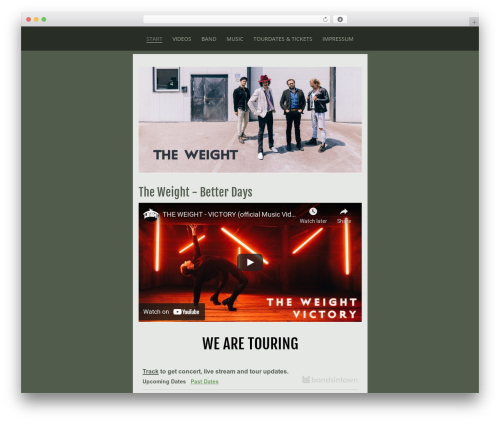 Trio WP template - theweightrock.com
