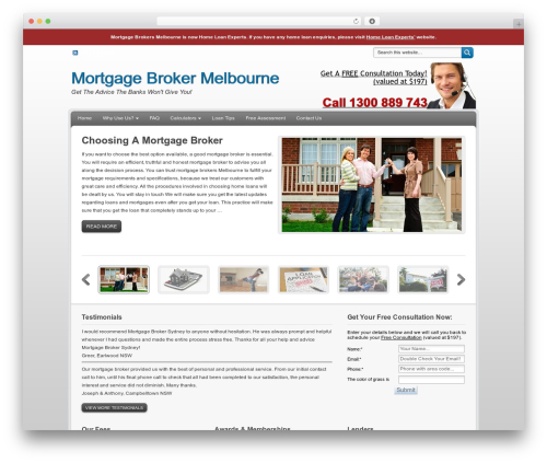 Free WordPress My Quicktags plugin - topmortgagebrokersmelbourne.com.au