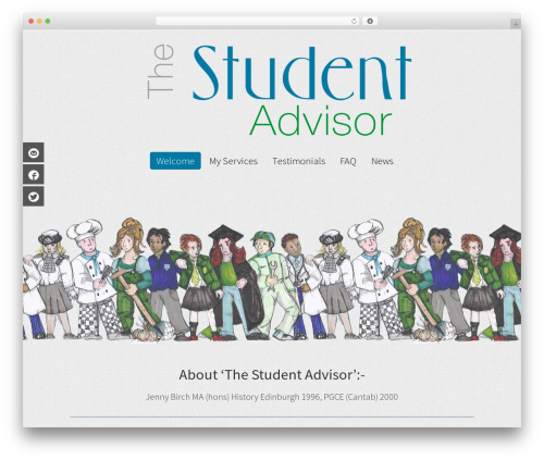 WordPress theme WP Champion - thestudentadvisor.co.uk