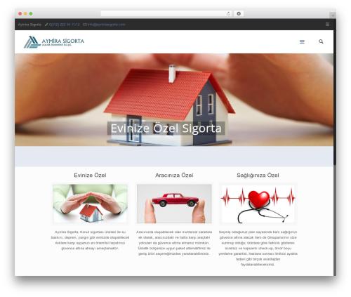 Betheme WordPress theme design - aymirasigorta.com