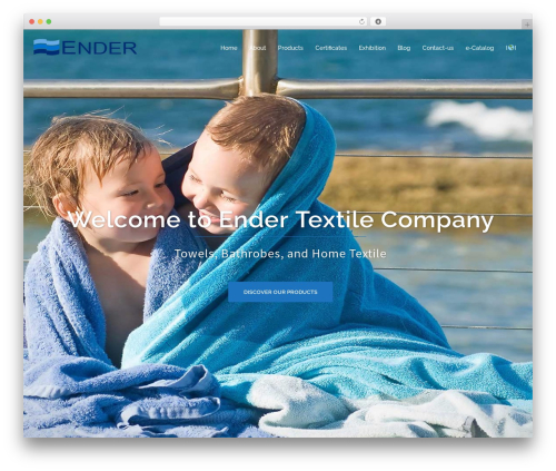 Sydney WordPress template free download - endertekstil.com