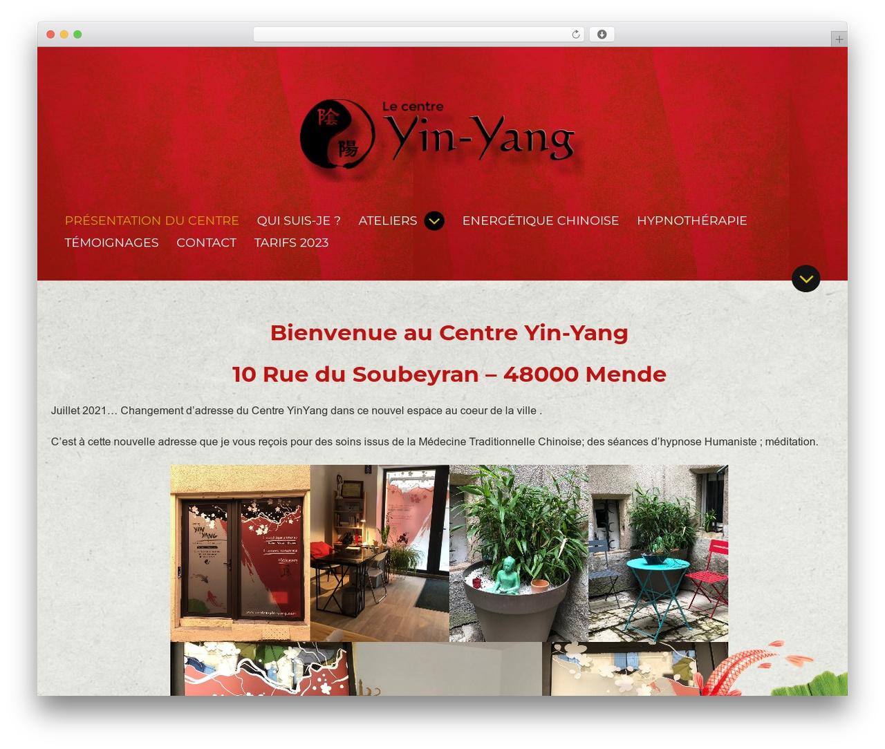 Theme WordPress BeautySpot - centre-yin-yang.com
