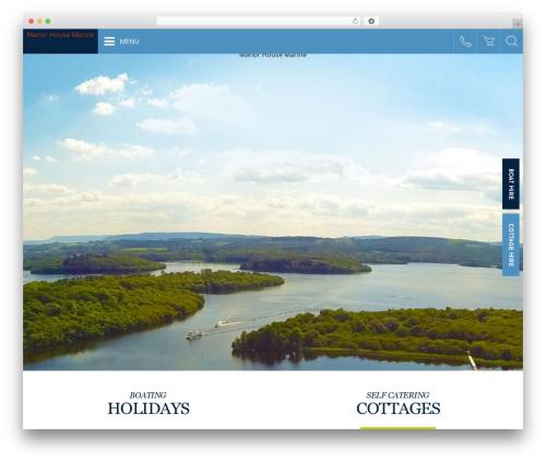WordPress theme WebsiteNI Theme - manormarine.com