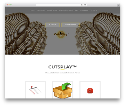 WordPress website template ResponsiveBoat - cutsplay.com