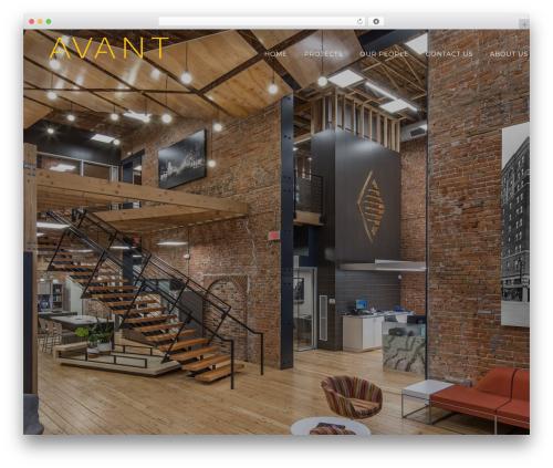 Enliven Pro theme WordPress - avant-architects.com