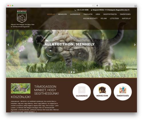 SKT Coffee free WordPress theme - herosz.hu