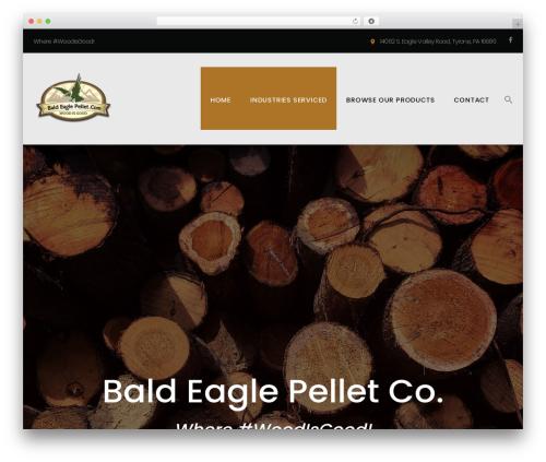Template WordPress Machinist - baldeaglepellet.com