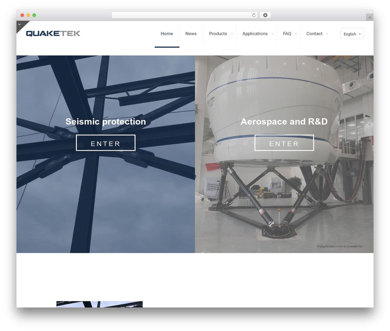Theme WordPress Betheme - quaketek.com