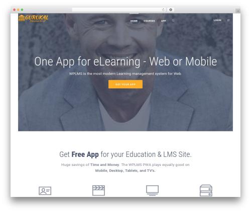 Theme WordPress WPLMS - gurukal.com