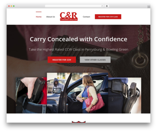 Avada WordPress theme - crconcealcarryclass.com