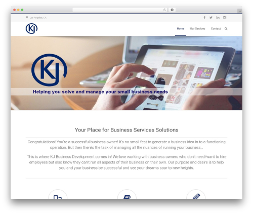 Best WordPress theme Specular - kjbusinessdevelopment.com