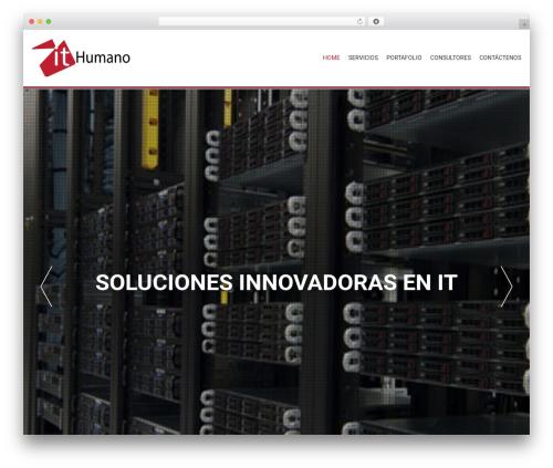 AccessPress Parallax WordPress theme download - ithumano.com