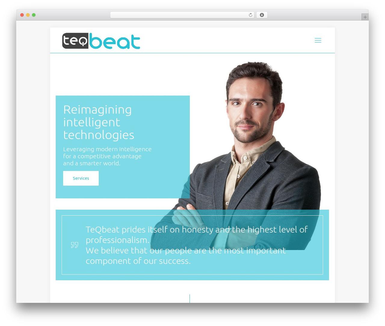 Best WordPress theme Betheme - teqbeat.com