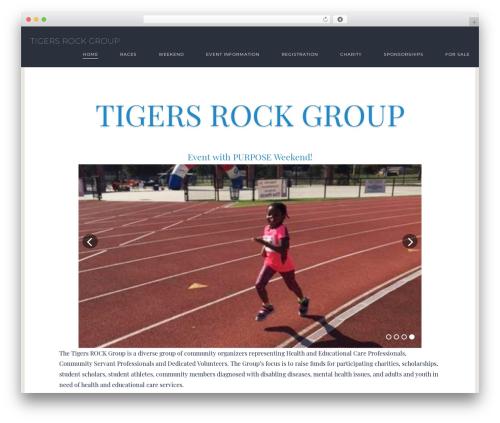 Exposure Parent WordPress theme design - tigersrockgroup.com