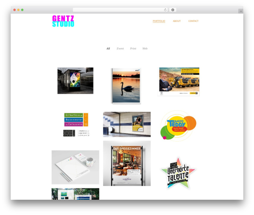 Theme WordPress Beau - gentzstudio.com