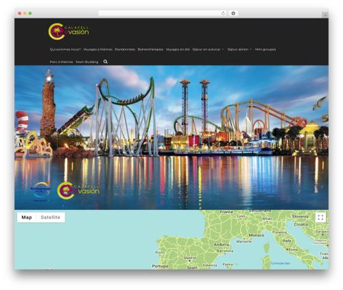 WordPress theme WPVoyager - calafellevasion.com