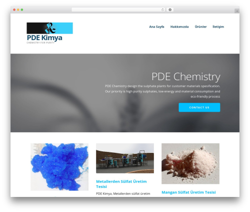 Ascension best WordPress theme - pdekimya.com