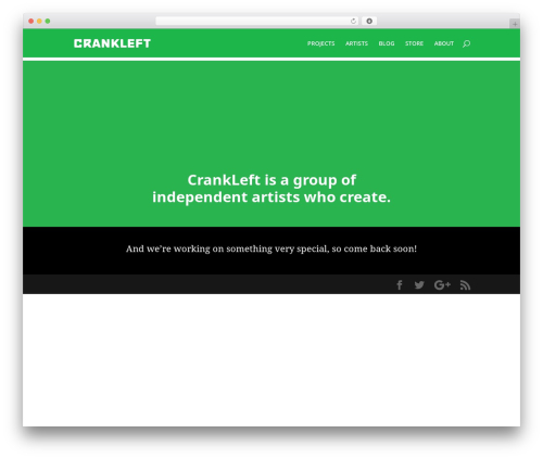 Divi template WordPress - crankleft.com