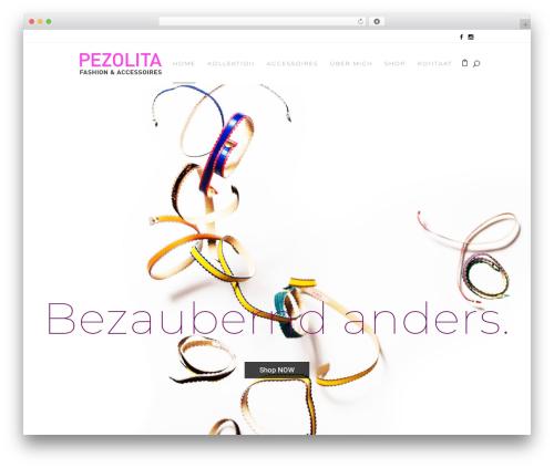 Stockholm fashion WordPress theme - pezolita.com