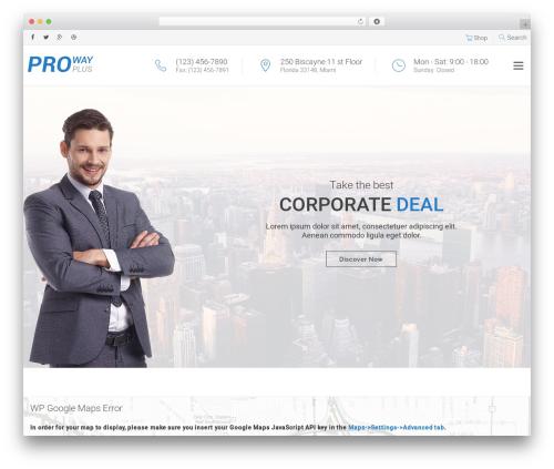 proway theme WordPress - networkpresence.info