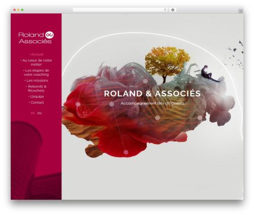 Template WordPress Stockholm - roland-associes.com