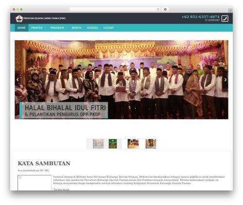 WordPress website template Edu - pkdp.or.id