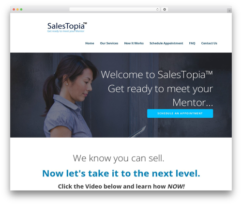 WP template Ascension - sales-topia.com