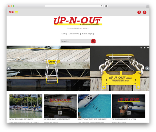 Faster Solutions (FSOL) WordPress theme - up-n-out.com