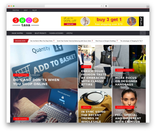 Novomag Premium Theme [Shared By themes24x7.com] theme WordPress - shoptasa.com