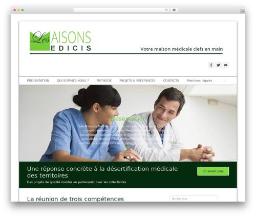 Template WordPress Catch Base Pro - lesmaisonsmedicis.com