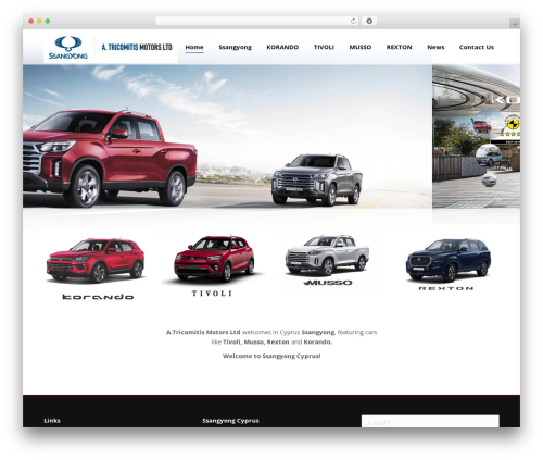 The7 WP theme - ssangyongcyprus.com