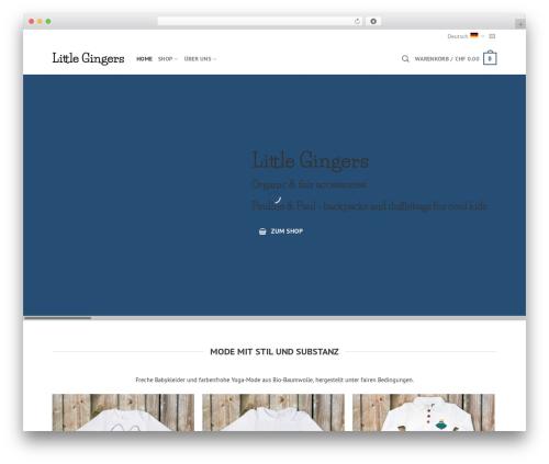 WordPress woocommerce_postfinancecw plugin - littlegingers.com