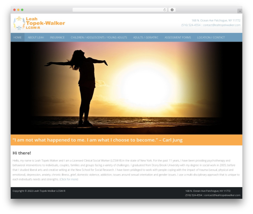WordPress theme AccessPress Pro - leahtopekwalker.com
