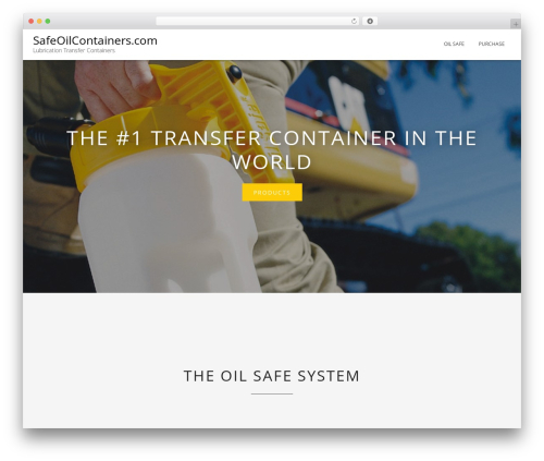 WordPress theme Blended - safeoilcontainers.com