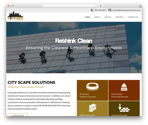 CITYscape business WordPress theme - cityscapesolutionsinc.com